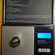 Electronic-Scale Jewelry Digital Stainless-Steel Gold Mini Portable