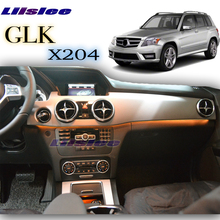 For Mercedes Benz GLK MB X204 2008~2015 Dashboard Interior OEM Original Factory Atmosphere advanced Ambient Light