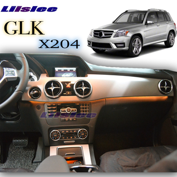 цена на For Mercedes Benz GLK MB X204 2008~2015 Dashboard Interior OEM Original Factory Atmosphere advanced Ambient Light