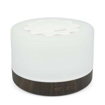 Purificador de aire 2020 ML, difusor ultrasónico de Aroma, humidificador de aire, madera de grano, purificador de aceites esenciales con luz de colores para el hogar, 700