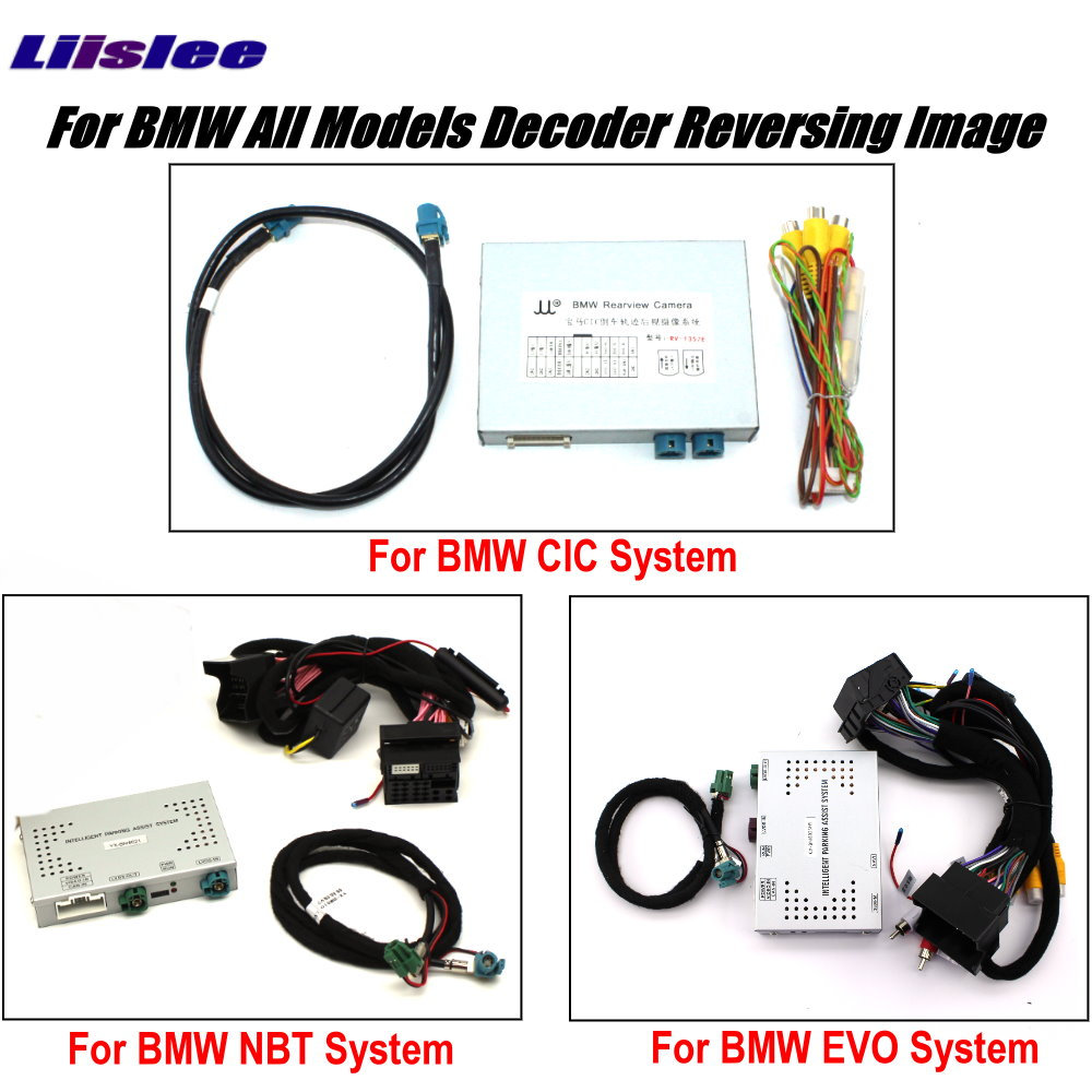 For BMW F30 F31 F34 2011~2018 CIC NBT EVO System Rear Camera Original Screen Upgrade Reversing Image Reverse Decoder Module