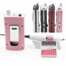 Portable 18W 30000RPM Electric Nail Drill Manicure Machine Art Tools Acrylic Equipment