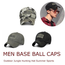 Digital Men Baseball Caps Camouflage Cap Outdoor Jungle Hunting Hat Summer Sports Embroidery Cotton Dad