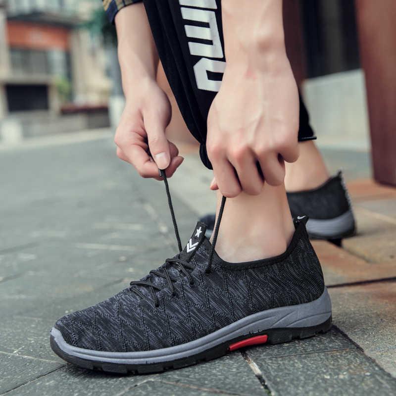 Original retro tênis de corrida para homem choque ar ao ar livre formadores luz jovens adolescentes sapatos esportivos sapatos casuais
