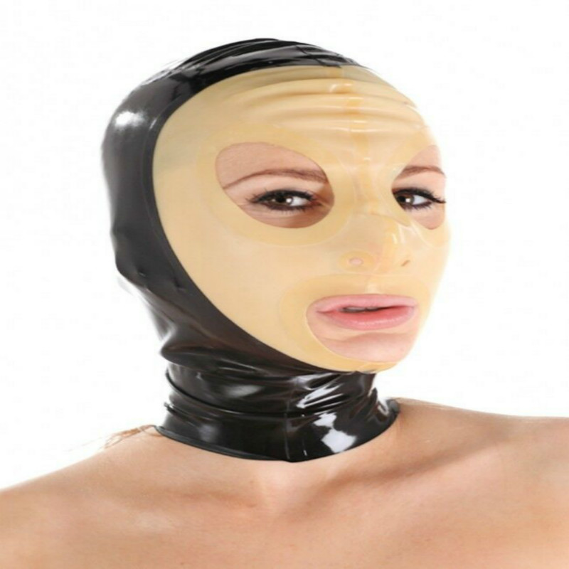 Wearing Latex Mask Forumophelia 1