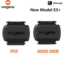 MAGENE Computer speedometer gemini 210 S3+ Speed Sensor cadence ant+ Bluetooth for Strava garmin bryton bike bicycle computer