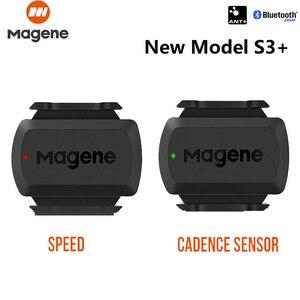 MAGENE Computer speedometer gemini 210 S3+ Speed Sensor cadence ant+ Bluetooth for Strava garmin bryton bike bicycle computer(China)