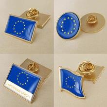 Broche de bandeira da união europeia/emblemas/pinos de lapela
