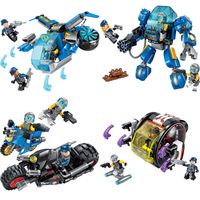 Enlighten Building Block High Tech Era Garma Mecha Man Figures Educational Technic Bricks Toy For Boy