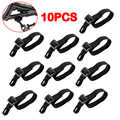 10 Pcs Buttstock Sling Mount Strap Loop Adapter Webbing Rifle Shotgun Attachment Hunting Accessories