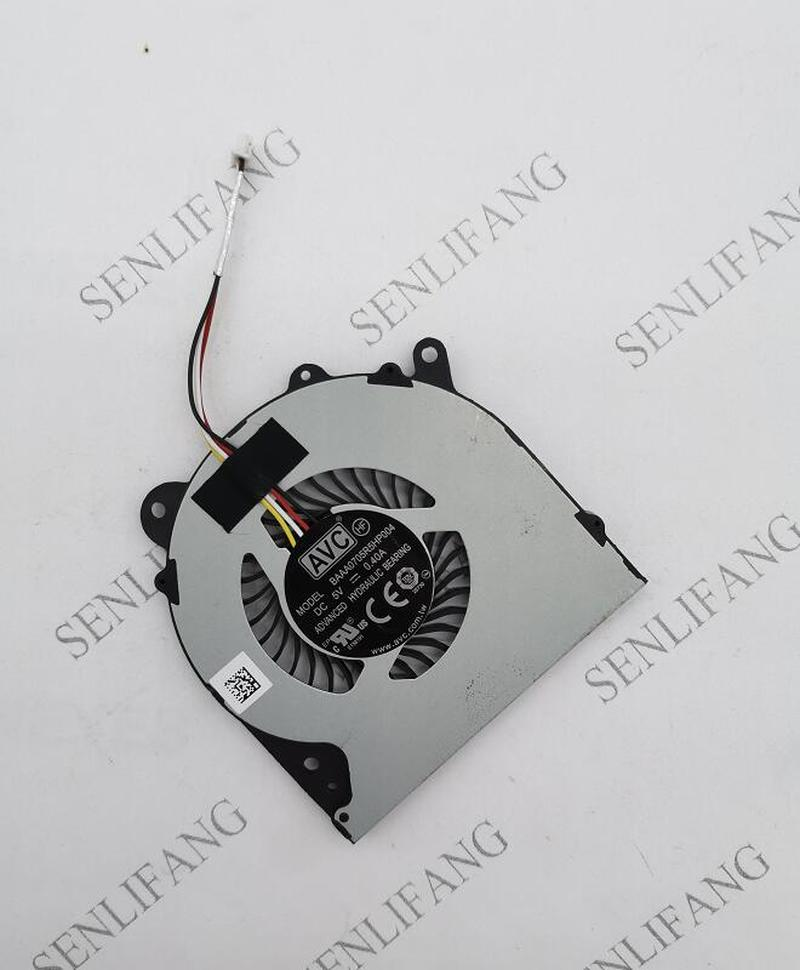 Original For AVC BAAA0705R5HPOFF BAAA0705R5HP004 DC 5V 0.40A 4-lines CPU Notebook Cooling Fan