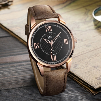 YAZOLE Men Watch Top Luxury Brand Sport Watches Mens Quartz Wristwatch Male Clock Relogio Masculino YZL424 - sale item Men's Watches