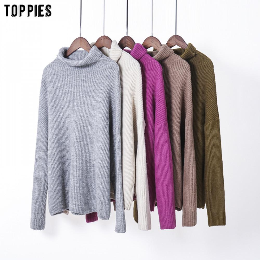 Toppies осень 2020 свитер с высоким воротником женские трикотажные топы больших размеров мягкие теплые пуловеры kawaii одежда| |   | АлиЭкспресс - Трендовые вещи из сериала «Эмили в Париже»