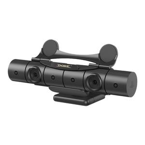 Image 2 - OIVO PS4 카메라 렌즈 보호 커버 센서 보호기 PS4 렌즈 커버 용 장착 클립 홀더 새 카메라 V2.0 센서