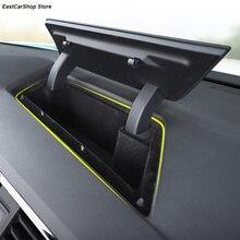 Samochód przód centralny konsoli Dashboard przechowywania uchwyt skrzynki wnętrze rozmieszczenie Tidying dla Volkswagen VW Tiguan MK2 2020 2019 2018 2017
