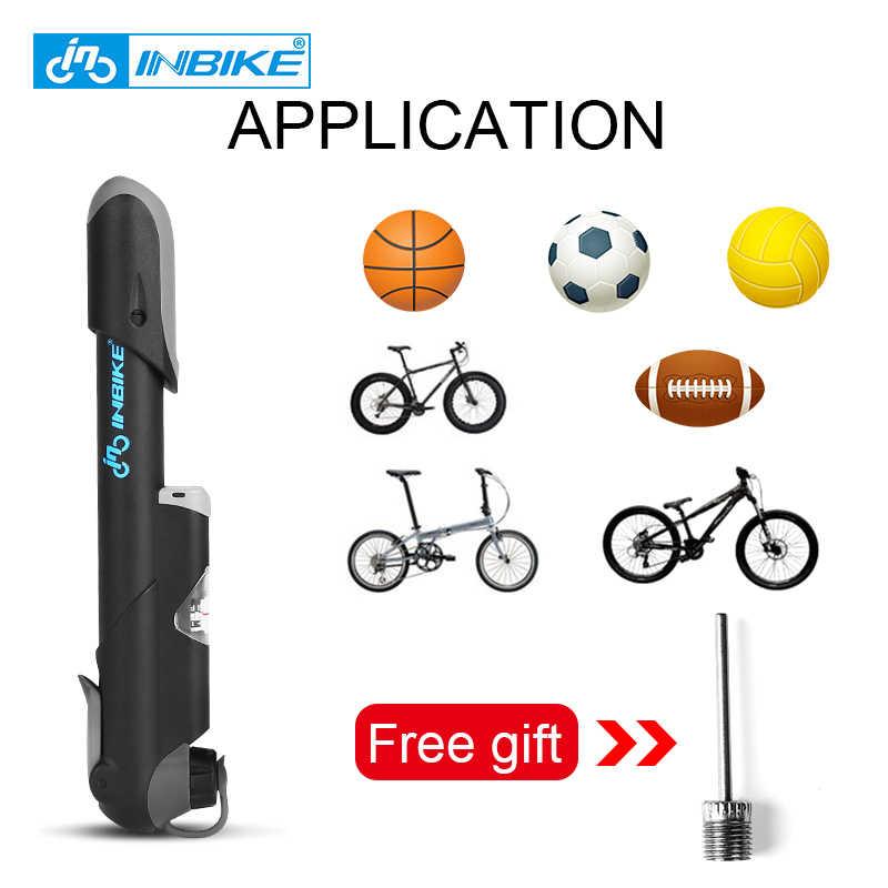 Mini Bike Pump Bicycle Tyre Inflator Hand Pump Schrader Presta Valve Portable