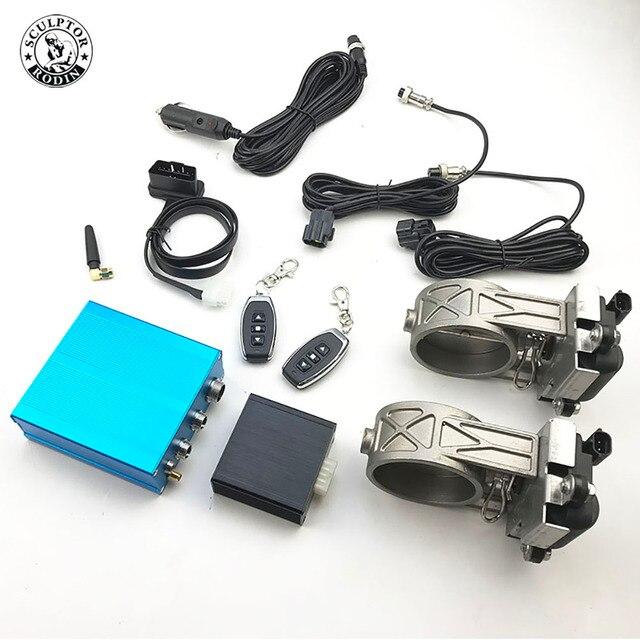 Soupape de commande électronique intelligente OBD déchappement de voiture 2 pouces/2.25 pouces/2.5 pouces/2.75 pouces/3 pouces tuyau Remo