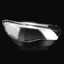 Przednie reflektory reflektory szklana maska pokrywa lampy przezroczysta powłoka lampy maski dla Audi A6L C7 PA 2016 2018