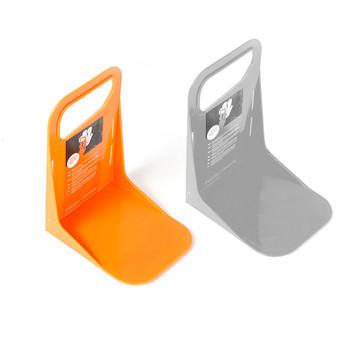 Tylny bagażnik samochodowy stały uchwyt na półkę pojemnik na bagaże stojak odporny na wstrząsy Organizer ogrodzenie schowki pojemnik na pudełko uchwyt odporny na wstrząsy tanie i dobre opinie QCMAPR CN (pochodzenie) 19cm Fixed Rack Holder 117g 14cm 11 5cm Grey Orange 19*14*11 5cm