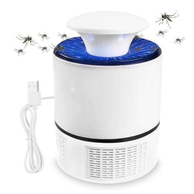 Meijuner Mosquito Killer Lamp USB Electric No Noise No Radiation Insect Killer Flies Trap Lamp Anti Mosquito Lamp Home B021