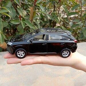 Image 5 - Lexus SUV RX350 1:32, modèle de voiture en alliage moulé sous pression, modèle de voiture jouet pour enfants, cadeaux danniversaire de noël, livraison gratuite