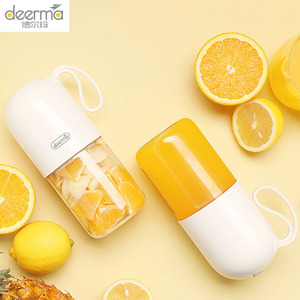 Image 1 - Deerma Juicer 300 Ml Draagbare Elektrische Blender Multifunctionele Draadloze Mini Usb Oplaadbare Sap Cup Fruit Mixer Voor Reizen