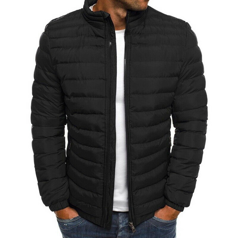 Men's Puffer Bubble Down Jacket Coat Lightweight Quilted Padded Packable Outwear Casual   Parkas   Streetwear Coat Tops