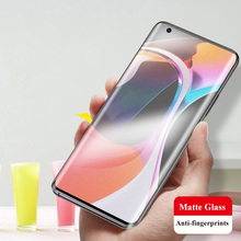 3D Full Cover Matte Frosted Tempered Glass Screen Protector