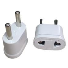 1pcs EU KR Plug Adapter Japan Ons EU Euro Europese Travel Adapter Elektrische Plug Netsnoer Charger Sockets outlet