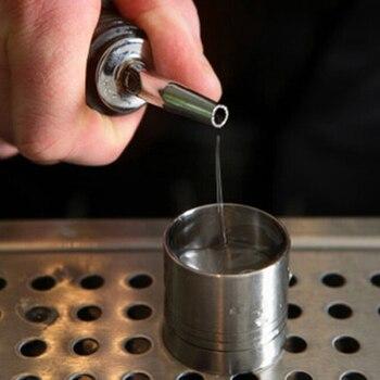 New 2018 1Pcs Stainless Steel Liquor Spirit Pourer Flow Wine Bottle Pour Spout Stopper Barware