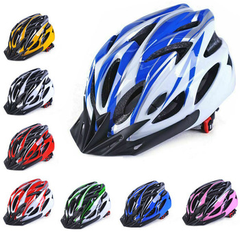 Cycling Bicycle Bike Helmet mtb for Man Multi-Color Riding Road Bike Integrated-Mold Lightweight Breathable Equipment Helmet