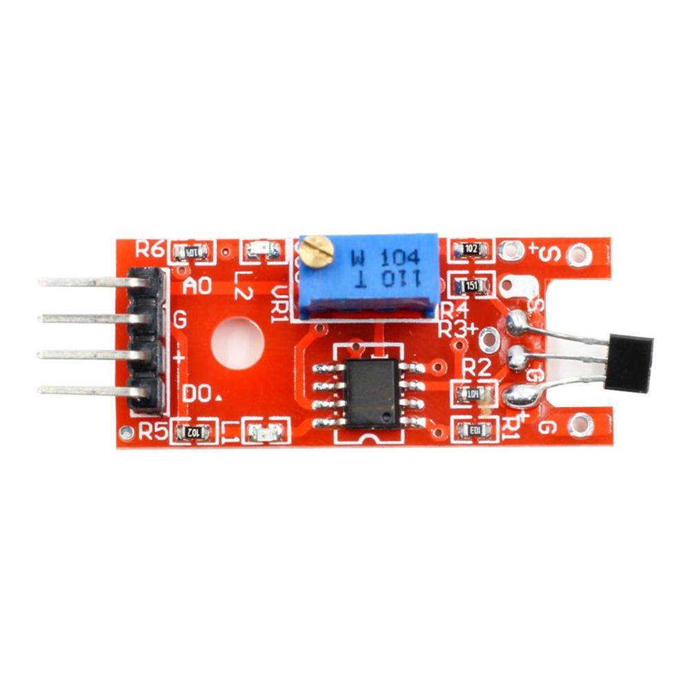 Linear Magnetic Hall Sensor Ky-024 Applicable A Accessories High Sensitivity