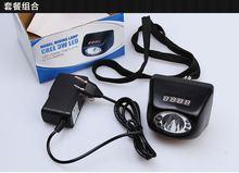 цена на 4500mAH 3W Explosion-Proof Headlamp Mining Light Cap Lamp searchlight Digital LED Miners Lamp with Timer Display