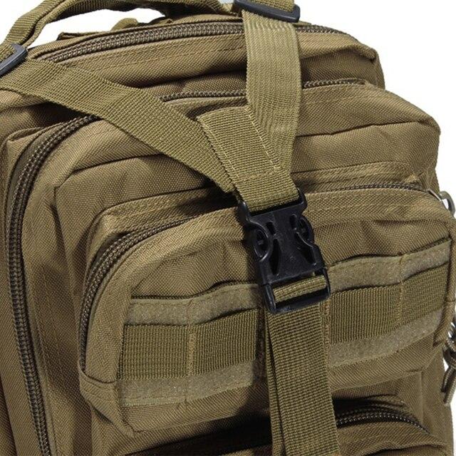Outdoor Military Rucksacks 1000D Nylon 30L Waterproof Tactical backpack Sports Camping Hiking Trekking Fishing Hunting Bags 4