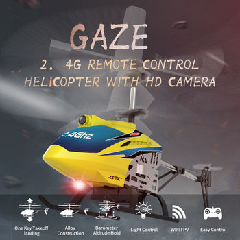 JJRC JX03 Remote Control Helicopter Rc HD Camera 720P 2.4G 4CH Aircraft WiFi Aerial Shooting Like Children's toys Helicoptero