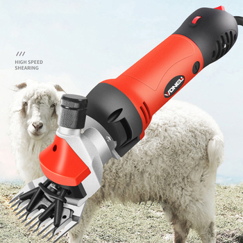 Wool Shears Electric Fader Labor Saving Shave Wool Speed Regulation Electricity Scissors Livestock Animal Shearing Machine electric sheep clipper shearing machine power goats livestock