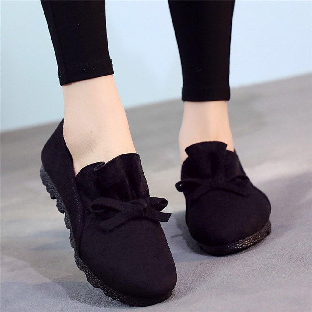 Grande taille 35 43 femmes chaussures plates 2019 mocassins couleur bonbon sans lacet chaussures plates confortable dames chaussure zapatos mujer #4 | AliExpress
