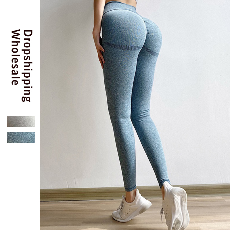 2020 Women Bubble Buttock Leggings Seamless Workout Leggins Sexy Clothes Workout Jeggings Fitness Legging Stretchy Trousers