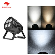 2 шт 4x50 Вт светодиодный cob led par Освещение 200w Стробоскопическая