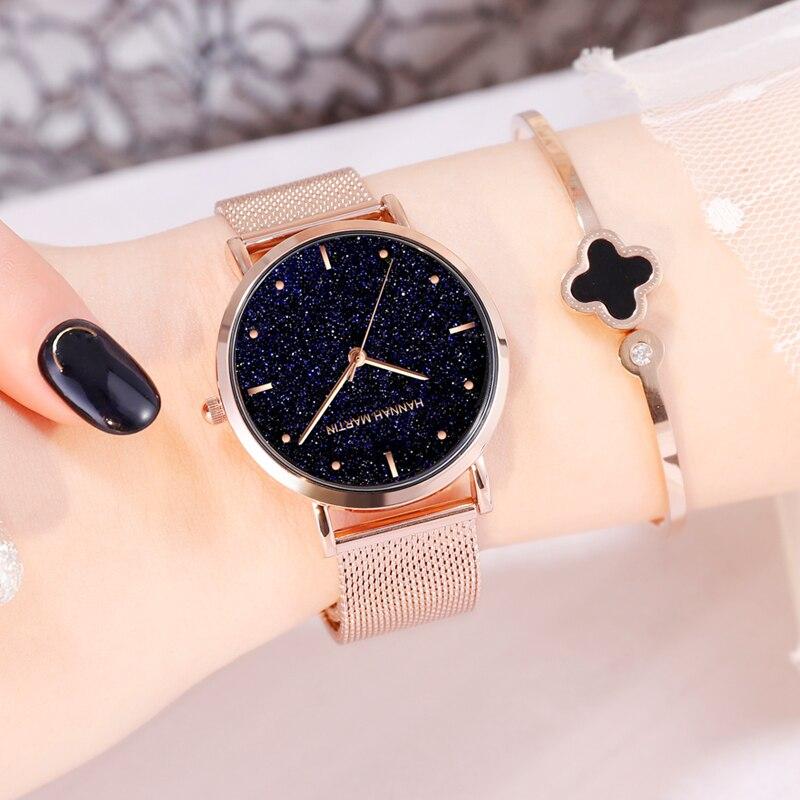 שעון יד רוז זהב 3