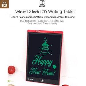 Image 2 - חדש Wicue 12 / 10 אינץ mijia LCD כתיבת לוח דיגיטלי ציור לדמיין Pad הרחבת רעיון עט עבור xiaomi ילדים