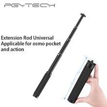 Pgytech pólo extensão vara haste scalable titular para dji osmo m3/bolso cardan ação câmera zhiyun S 4 estabilizador acessórios