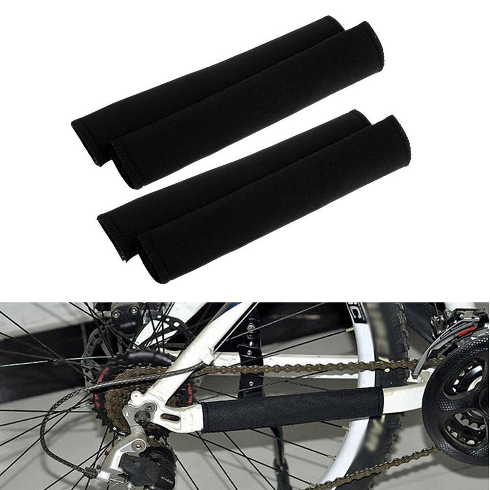Neoprenowy łańcuch do pielęgnacji roweru wysłany osłony rama rowerowa osłona łańcucha Protector MTB osłona do pielęgnacji roweru