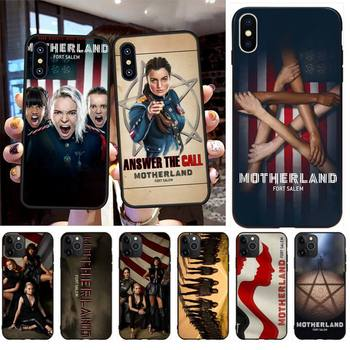 NBDRUICAI Motherland Fort Salem Luxury Unique Design Phone Cover for iPhone 11 pro XS MAX 8 7 6 6S Plus X 5S SE XR case image