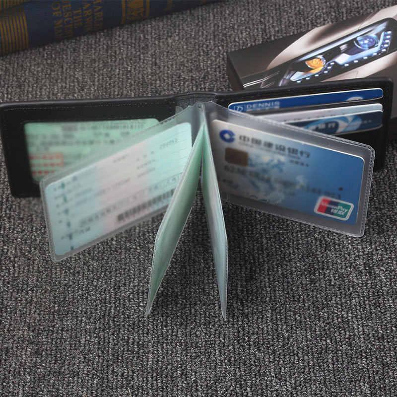Dragon Cetak Pu Kulit Auto SIM Cover Solid Ultra Tipis Penutup untuk Mobil untuk Dokumen Unisex SIM Tas panas