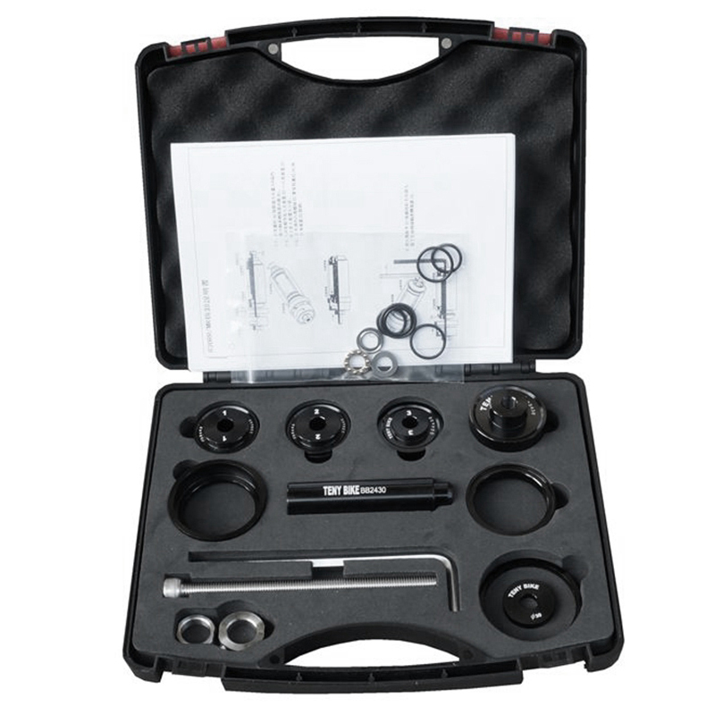 ABLB--Bb Install And Remove Tool Set Bb86 Bb90 Bb91 Bb92 Bb30 Bb30A Press-In Bb Mounting And Removal Tool Set