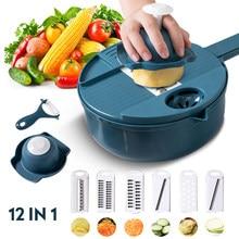 Trancheuse multifonctionnelle pour carottes, pommes de terre, légumes, éplucheur, presse à ail, fruits et légumes, pour accessoires de cuisine