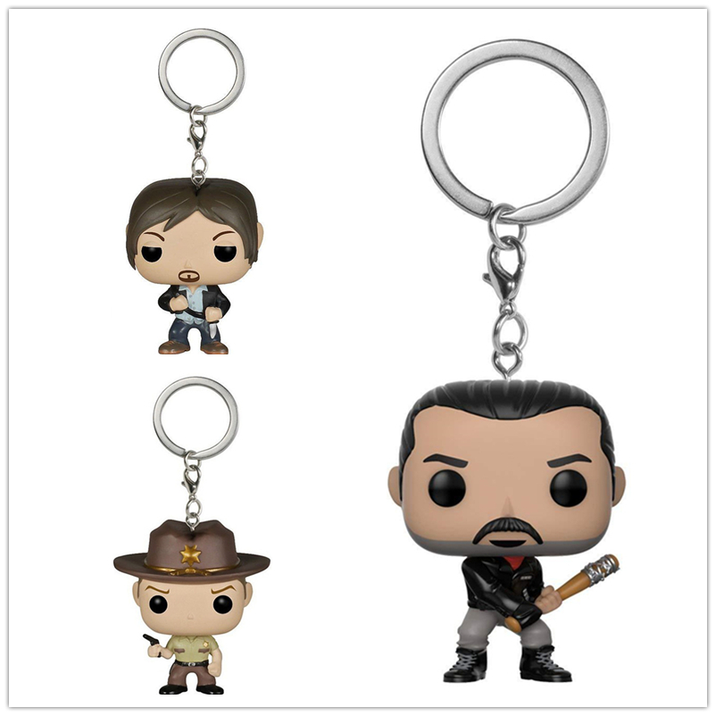 new-arrival-pocket-keychain-official-font-b-the-b-font-font-b-walking-b-font-font-b-dead-b-font-characters-action-figure-collectible-model-christmas-toys-with-box