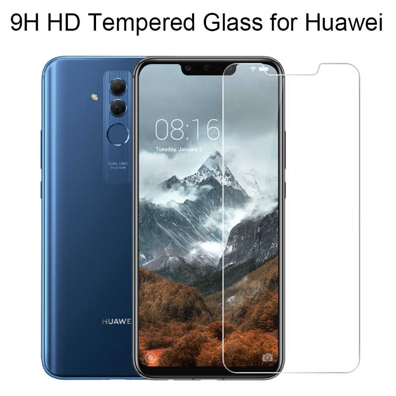 กระจกนิรภัย 9H สำหรับ HUAWEI Mate 20 Lite หน้าจอโทรศัพท์ Protector P สมาร์ท PLUS 2019 ฟิล์มด้านหน้าสำหรับ Huawei mate 10 Lite 7 8 9 Pro