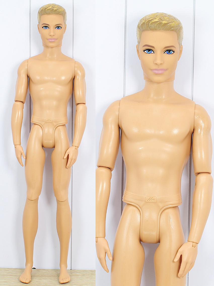 Original Nude Ken doll with 11 joint / Normal Skin Boy Doll for Barbie's boyfriend / gift for girls